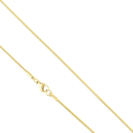 Łańcuszek stal linka 45cm Xuping LAP2819