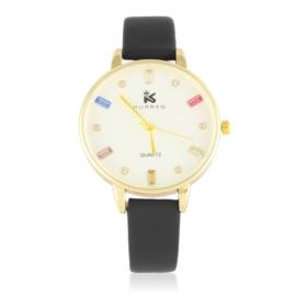 Zegarek damski na pasku - czarny Z2904