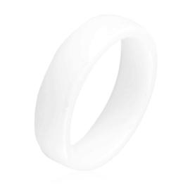Obrączka ceramiczna biała 6mm Xuping PP3869