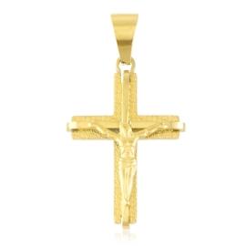 Przywieszka stalowa krzyżyk PRZ3228
