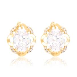 Kolczyki codzienne z kryształkami Xuping EAP21014
