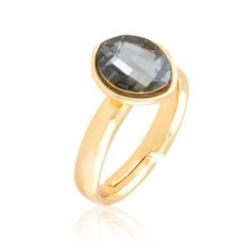 Pierścionek crystal regulowany Xuping PP3880