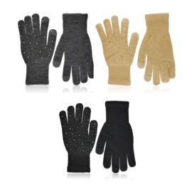 Rękawiczki z dżetami touch screen 21cm 12szt RK828