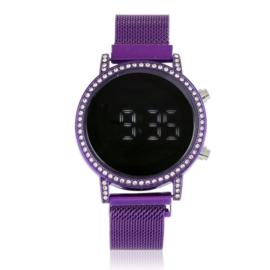 Zegarek LED na magnetycznej bransolecie Z2943