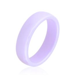 Obrączka ceramiczna fioletowa 6mm Xuping PP3892