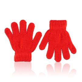 Rękawiczki dziecięce czerwone 13cm RK838