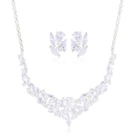 Komplet biżuterii wieczorowej Xuping - SKO137