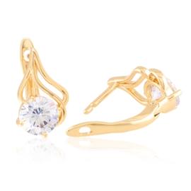 Kolczyki codzienne z kryształkami Xuping EAP21155