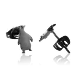 Kolczyki stalowe sztyfty pingwiny EAP21216