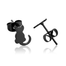 Kolczyki stalowe sztyfty kotki EAP21220