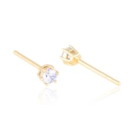 Kolczyki sztyfty z kryształkami Xuping EAP21371