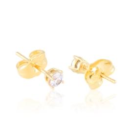 Kolczyki sztyfty z kryształkami Xuping EAP21387