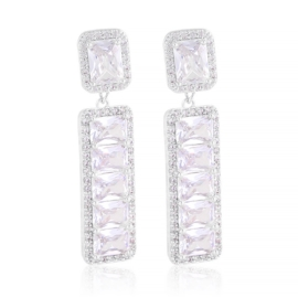 Kolczyki wiszące z kryształkami Moonriver EAP21423
