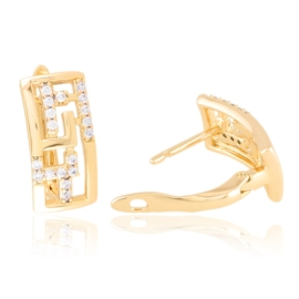 Kolczyki codzienne z kryształkami Xuping EAP21440