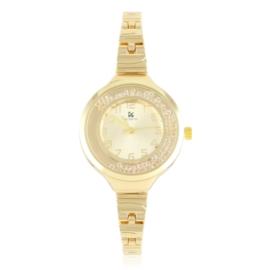Zegarek damski na bransolecie z kryształkami Z3001
