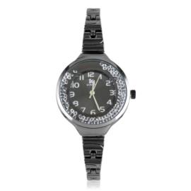 Zegarek damski na bransolecie z kryształkami Z3002