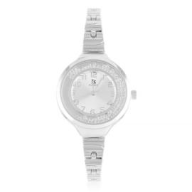 Zegarek damski na bransolecie z kryształkami Z3003