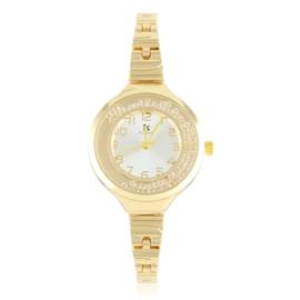 Zegarek damski na bransolecie z kryształkami Z3004