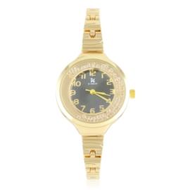 Zegarek damski na bransolecie z kryształkami Z3005