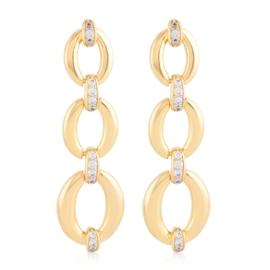 Kolczyki wiszące z kryształkami Xuping EAP21447