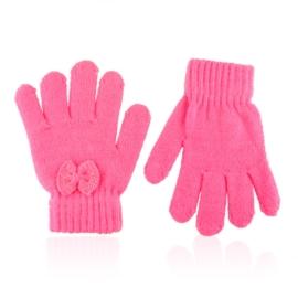 Rękawiczki dziecięce kokardka 16cm RK859