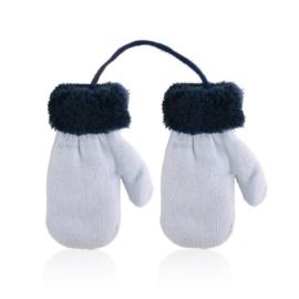 Rękawiczki dziecięce na sznurku 12cm RK861
