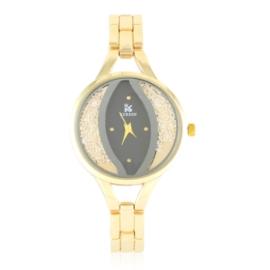 Zegarek damski na bransolecie z kryształkami Z3007