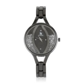 Zegarek damski na bransolecie z kryształkami Z3010