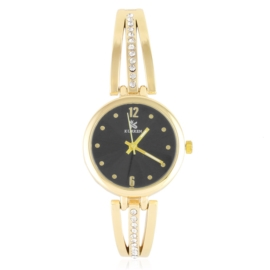Zegarek damski na bransolecie z kryształkami Z3011