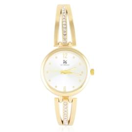 Zegarek damski na bransolecie z kryształkami Z3013