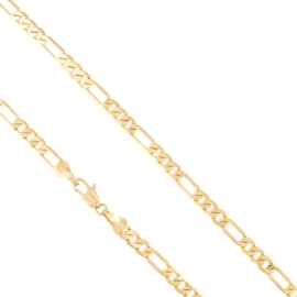 Łańcuszek figaro 50cm/0,5cm Xuping LAP2861
