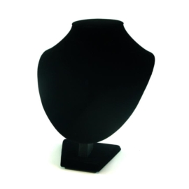 Ekspozytor popiersie - czarne - wys. 22cm x 18cm