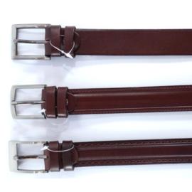 Pasek skórzany - brązowy - 3/100 (mix wzorów)
