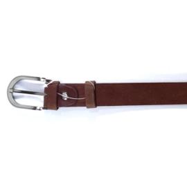 Pasek skóra - brązowy - 3/85-110