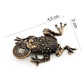 Figurka metalowa - żabka -10sz/op FZ6