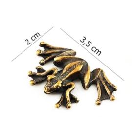 Figurka metalowa - żabka - 10szt/op FZ13