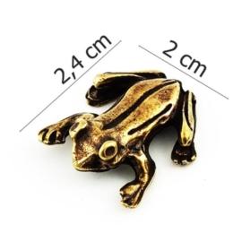 Figurka metalowa - żabka - 10szt/op FZ19