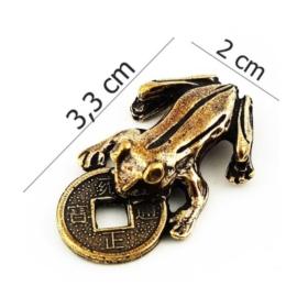 Figurka metalowa - żabka - 10szt/op FZ20