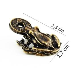 Figurka metalowa - żabka - 10szt/op FZ22