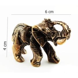 Figurka metalowa - słoń FS10