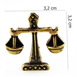 Figurka metalowa - zodiak Waga 10szt/op ZD12