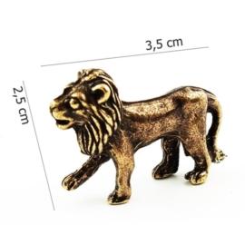 Figurka metalowa- zodiak Lew 10szt/op ZD11