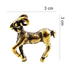 Figurka metalowa - zodiak Baran 10szt/op ZD7