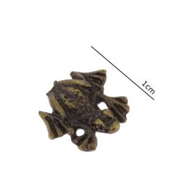 Figurka metalowa - żabka - 10szt/op ZM26