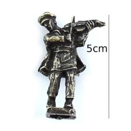 Figurka metalowa - skrzypek - 5szt/op FR93