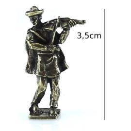 Figurka metalowa - skrzypek - 10szt/op FR92