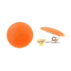 Klipsy - pomarańczowe KL4