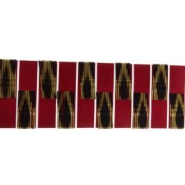 Wsuwki do włosów - czarno - złote 100szt dł. 4,5cm