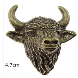 Figurka metalowa - głowa żubra FR84