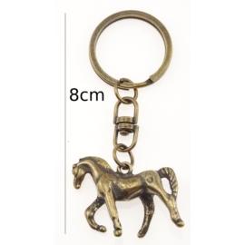 Brelok metalowy - koń - 12szt/op BM21